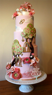 Lovebirds wedding cake | by House of the Rising Cake (still Surly)