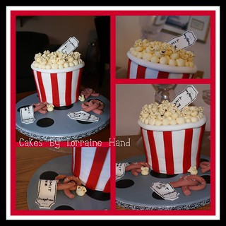Popcorn Cake Collage | by Lorraine's Cakes