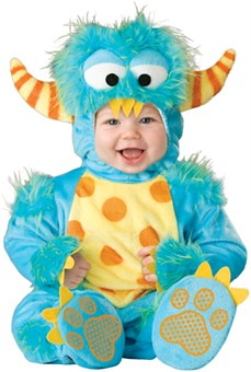 baby little monster halloween costume by in fashion kids