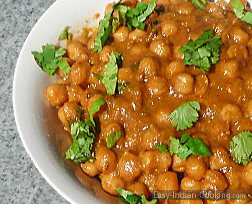 Chana Chole Masala Easy Indian Recipes Www Easy Indian C Flickr