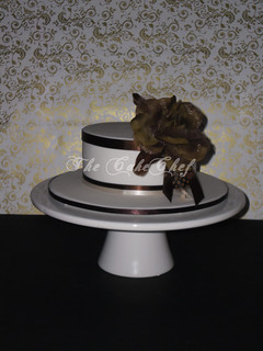 Vintage rose cake | by The CakeChef