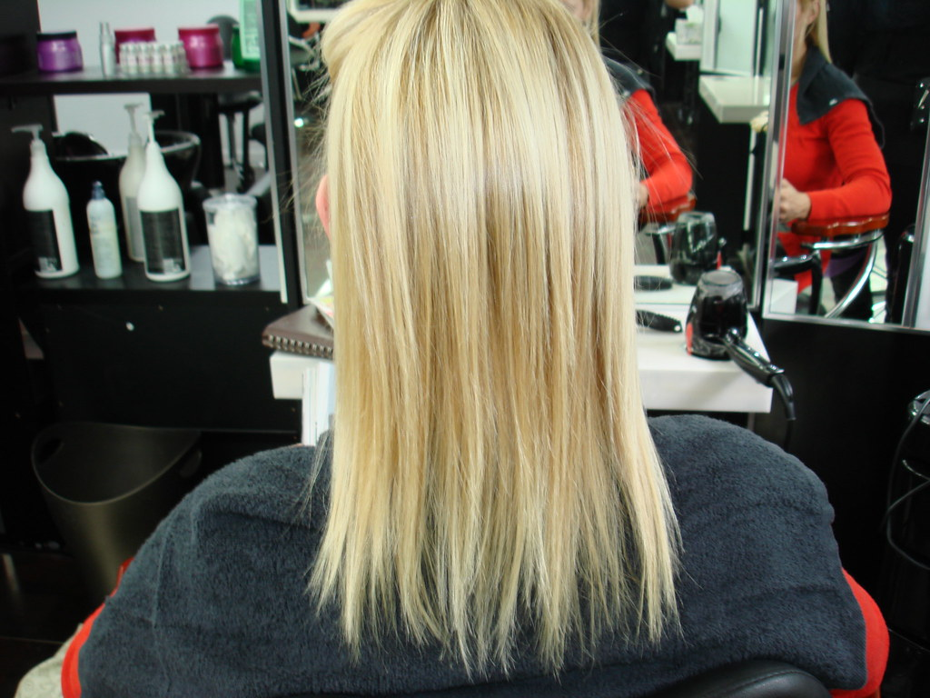 Before Hair Extensions By Euphora Hair Studio Queens Ny Flickr