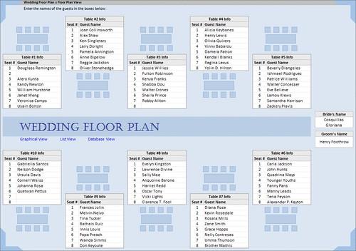 Wedding floor plan this wedding floor plan tool is ideal for Wedding floor plan