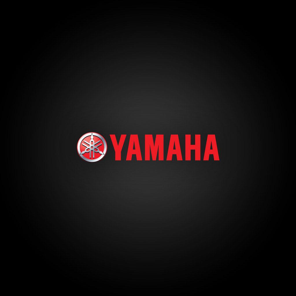 Yamaha Logo 2 IPad Wallpaper