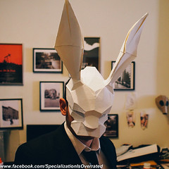 InFamous Second Son Origami Mask