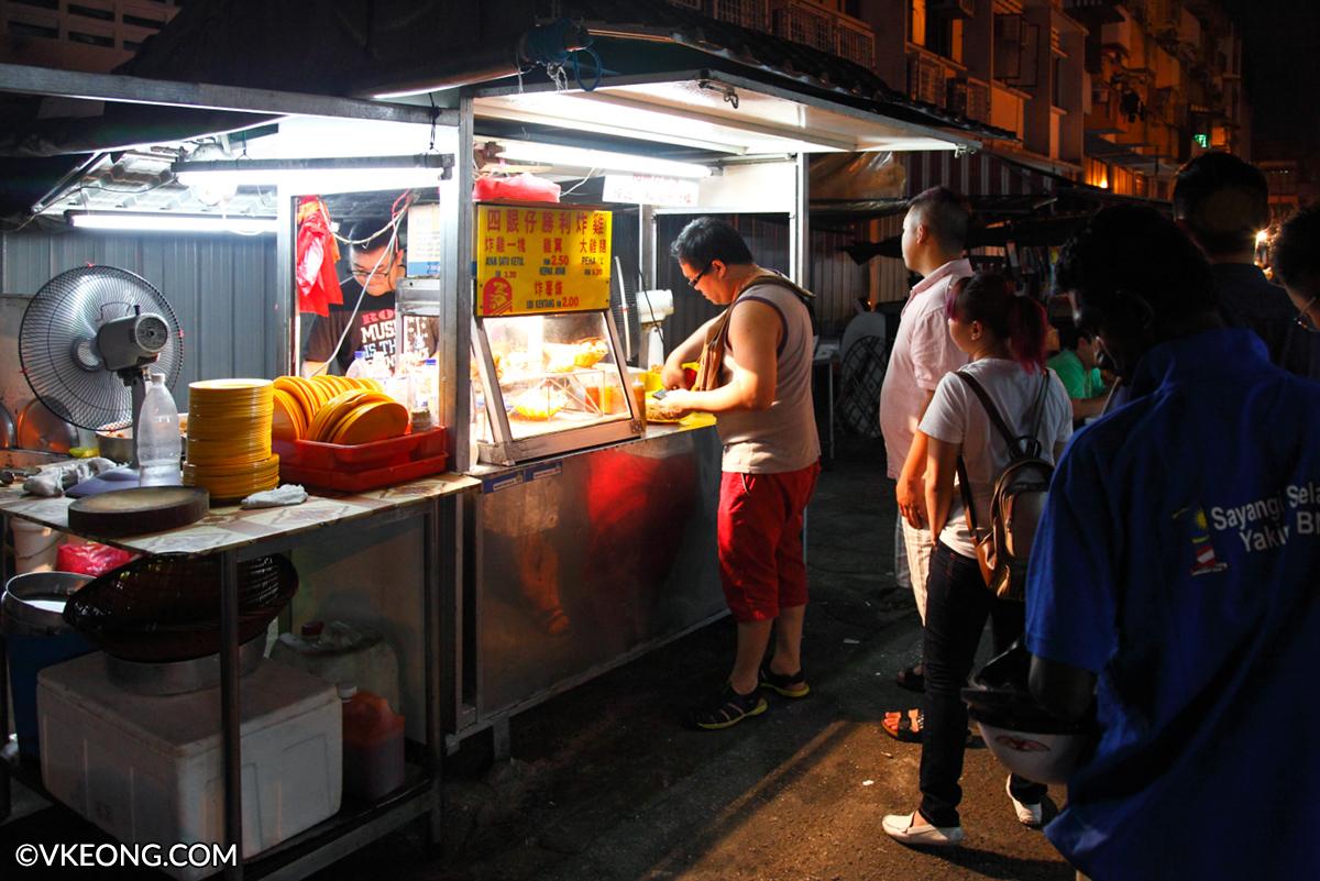 Sei Ngan Chye Fried Chicken Stall Pudu