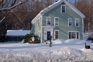 House with Lots 'O Snow | by Lori L. Stalteri