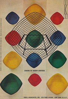 Chairs by Harry Bertoia | by The Cardboard America Archives