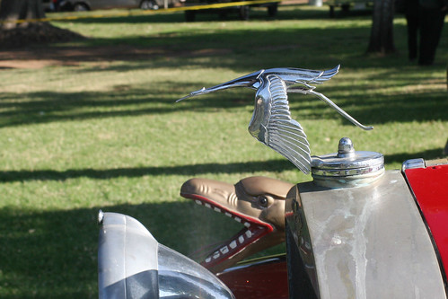 Lakeside Speedway Centennial 2007 - Hispano-Suiza  - Hood Ornament | by Driven to Capture 2