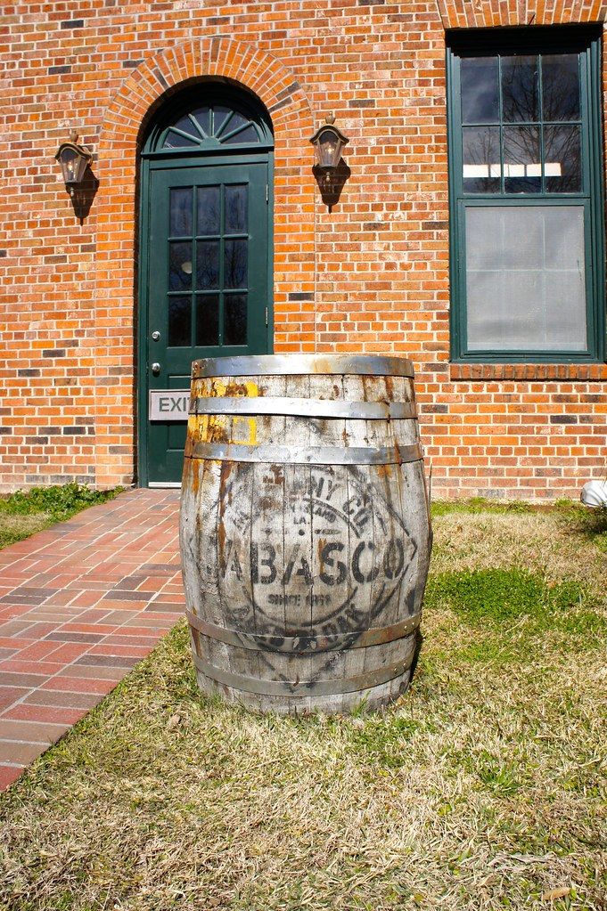 Tabasco Ages Their Chili Pepper Pulp In Oak Barrels That C Flickr