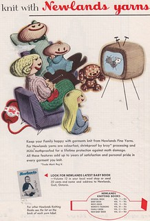 Vintage Illustrated Ad - Newlands Yarns | by vintage-mouse