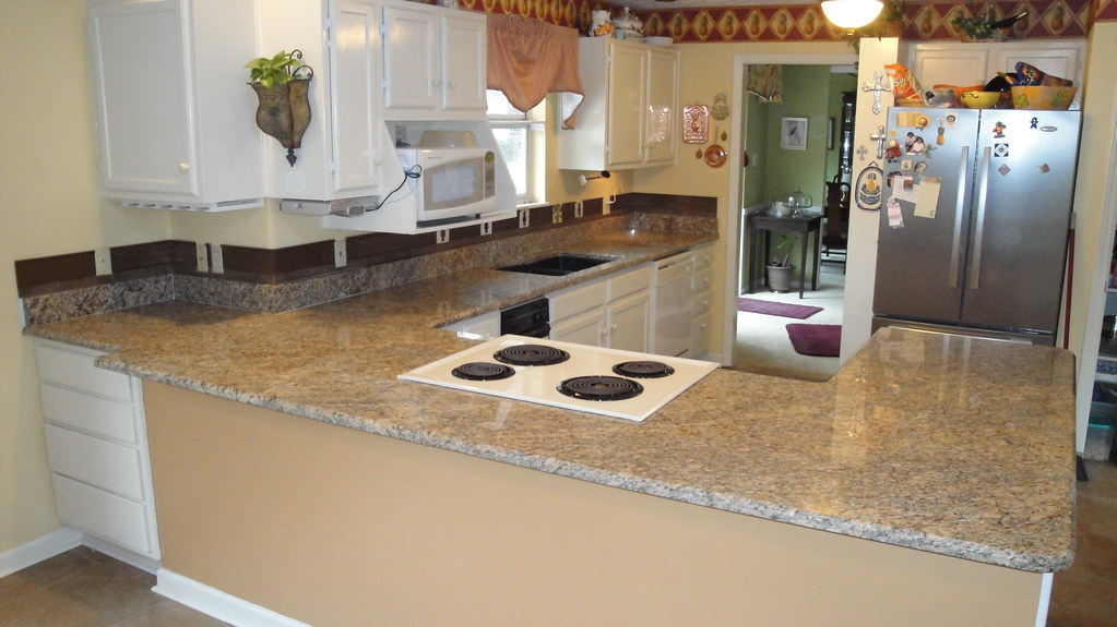 ... Stonecreeksurfaces New Venetian Gold Granite Countertops | By  Stonecreeksurfaces