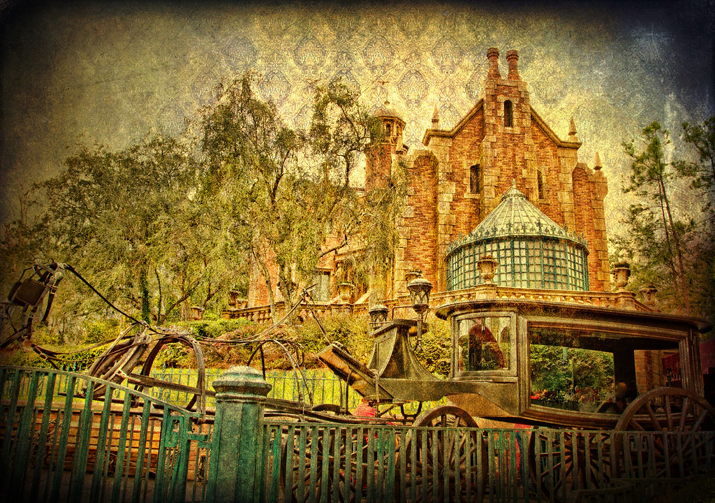 Dont Forget Your Death Certificate The Haunted Mansion Is Flickr