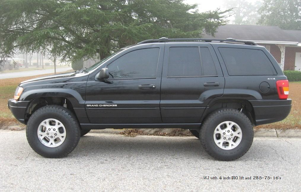 Wj Grand Cherokee With Iro 4 Lift And 285 75 16 S Flickr