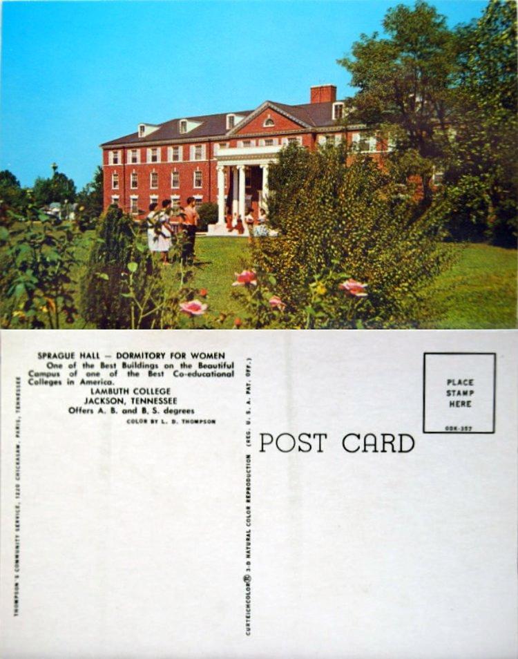 lambuth college jackson tenn sprague hall dormitory flickr