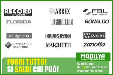 Mobili promozioni mobilya fuori tutto dal 12 febbraio for Mobilya caserta