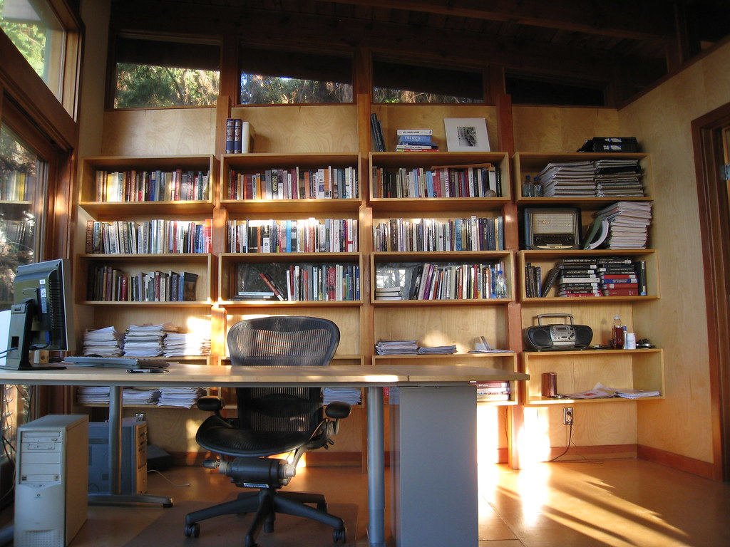 Writers retreat office addition over garage jeremy levine flickr writers retreat by jeremy levine design publicscrutiny Images