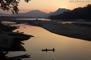 Sunset on the Mekong | by Sophie et Fred