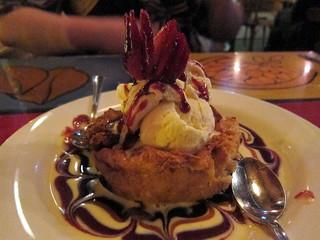 White Chocolate Strawberry Bread Pudding | Bosco's, Nashvill ...