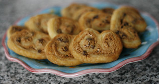 Peanut Butter Chocolate Palmiers (Elephant Ears) | by Sarah :: Sarah's Cucina Bella