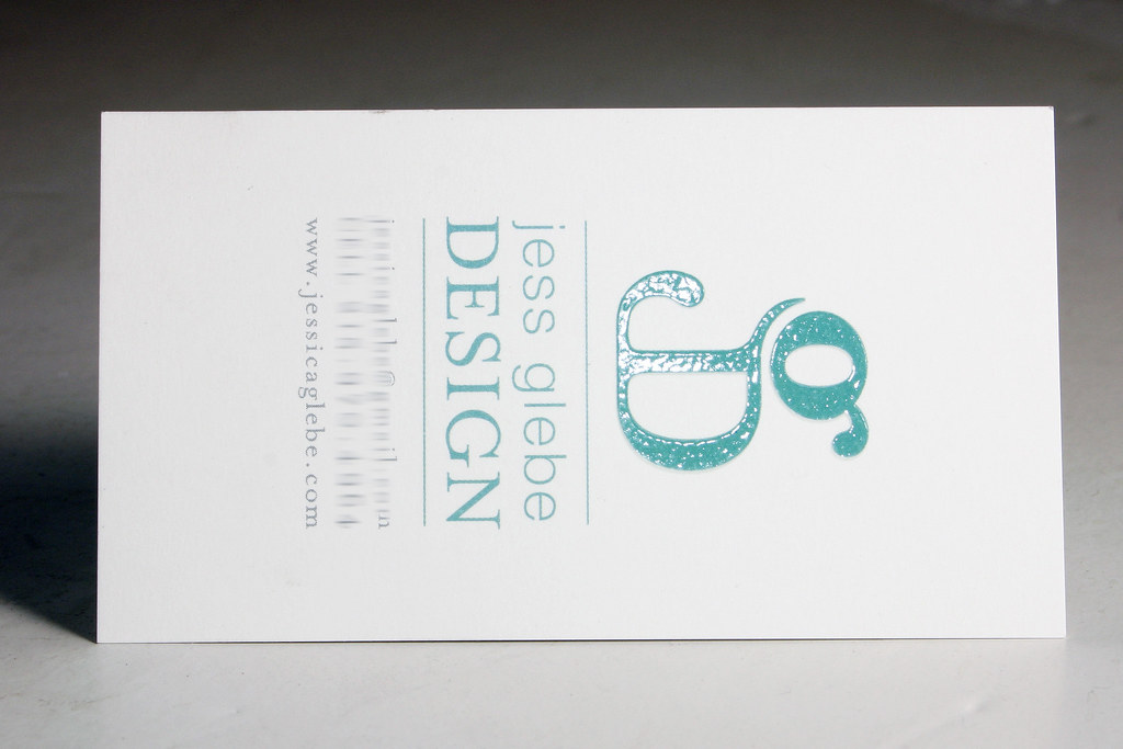 Raised Ink: business card | Raised Ink on logo: Paper: Heavy… | Flickr
