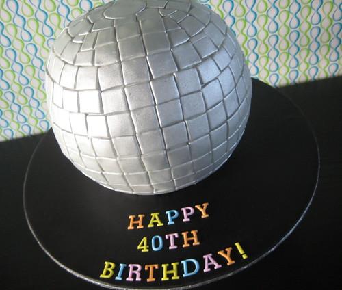 How Do You Make A Disco Ball Cake