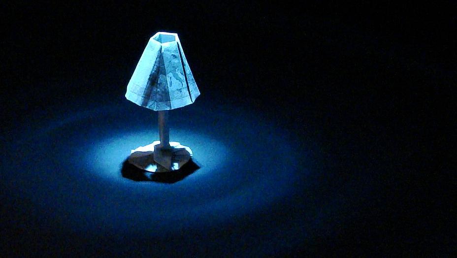 Origami Lampe Zwei 5 Euro Scheine Mehr Unter Www Orime De