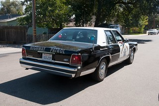 California Highway Patrol 1991 Ford Crown Victoria Code 3 Blue Red | by rocketdogphoto