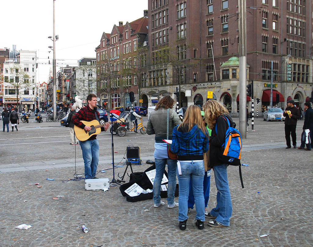 Travel Budget -Street Performers