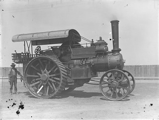 Fowler team locomotive 12257 | by Powerhouse Museum Collection