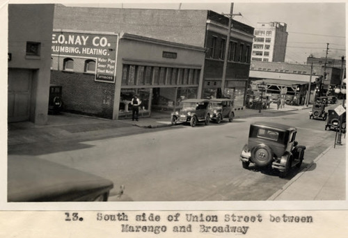 13. South side of Union Street between Marengo and Broadway | by Pasadena Digital History