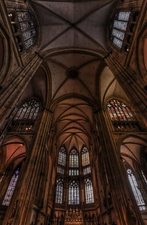 the Choir and Main Crossing of St Peter in Regensburg HDR | by 1982Chris911 (Thank you 5.500.000 Times)