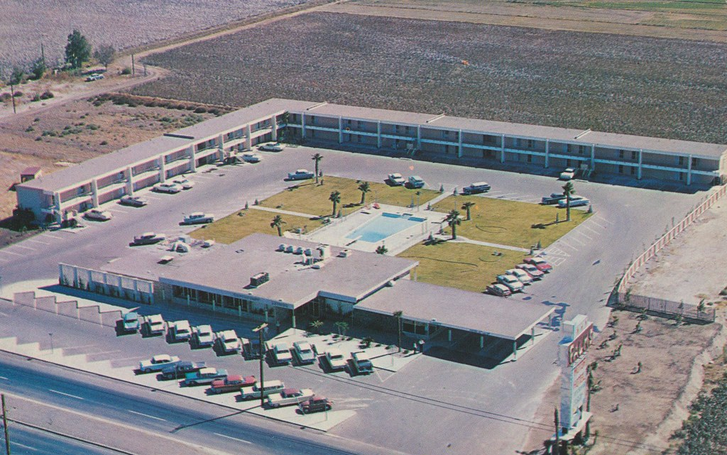 Palms Motor Hotel - Las Cruces, New Mexico