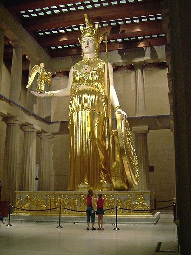 Statue of Athena: The Parthenon Nashville,  2004 | by steveartist