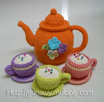 Crochet Teapot Set Yenny Gunawan Flickr