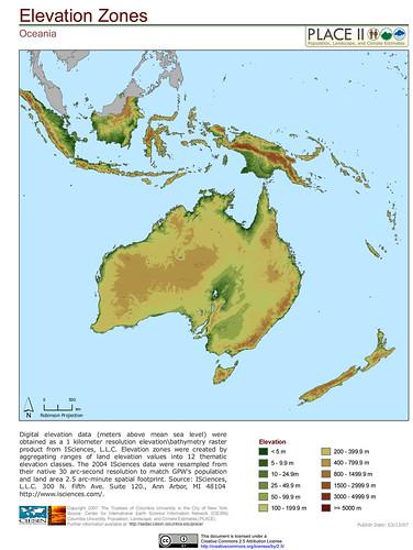N Home Elevation Zone : Oceania elevation zones digital data meters