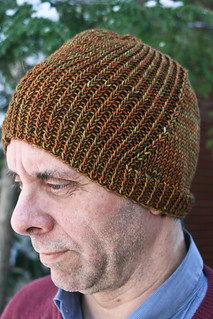 Windschief in MadTosh Vintage 'Golden Hickory'-4 | by add_knitter
