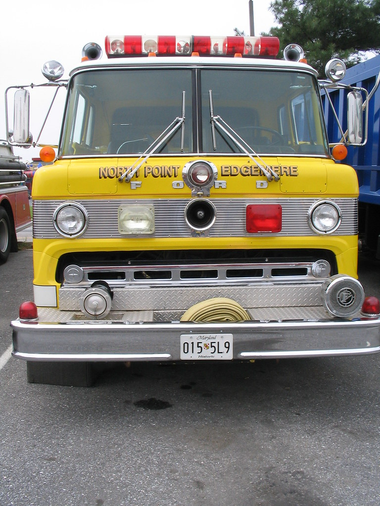 North Point Ford >> North Point Edgemere Fire Co Ford Coe Fire Truck Flickr