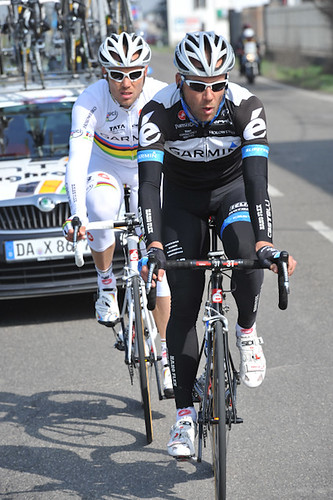 Andreas Klier, Thor Hushovd - Milano-Sanremo | by Team Garmin-Sharp