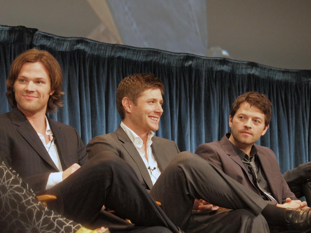 Jensen Ackles Jared Padalecki Misha Collins PaleyFest 11d