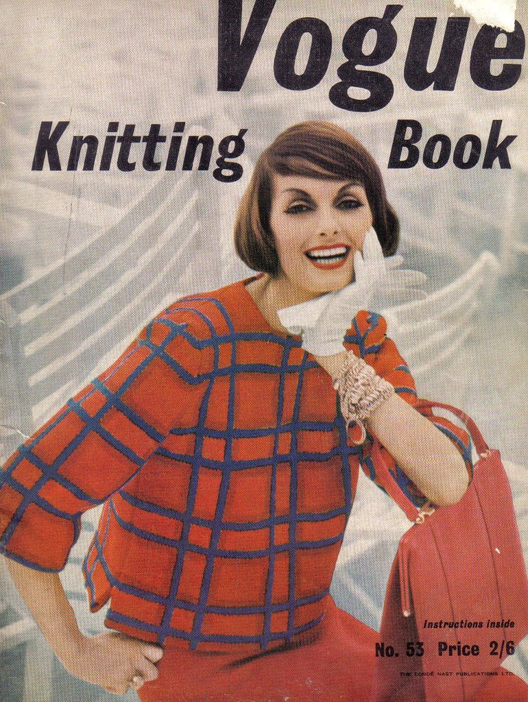Vogue Knitting-1958 | Cover Model:Anne St.Marie.Vogue Knitti… | Flickr