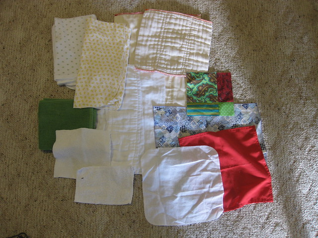 cotton rectangles