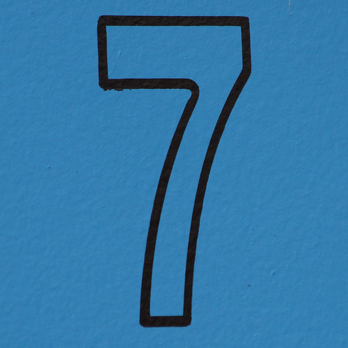 number 7 | by Leo Reynolds