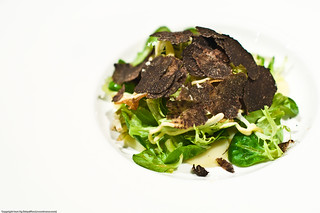 Duck Confit Salad with Alba Truffle Shavings | by NinjaHelloKitty