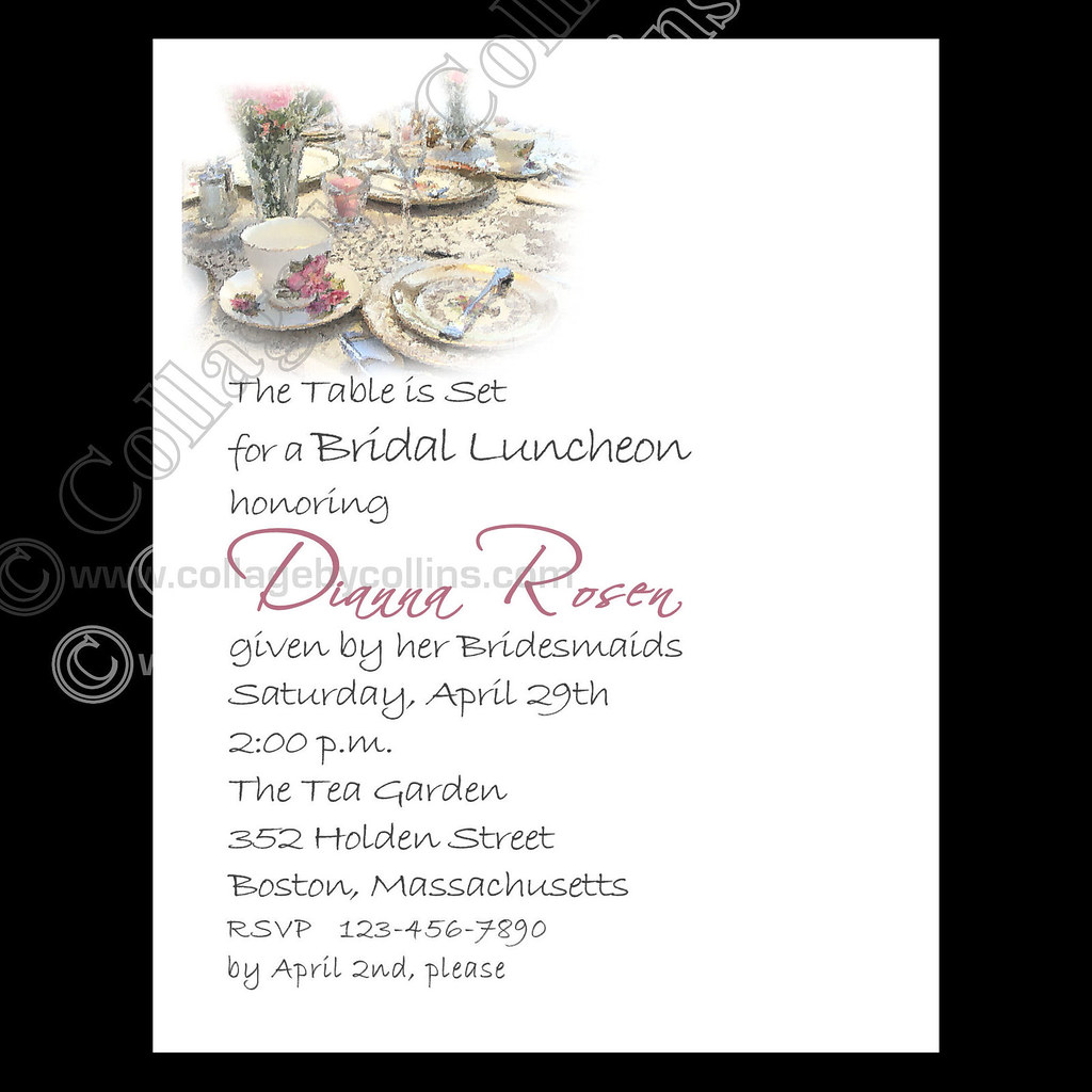 custom, personalized, wedding, bridal, victorian, tea, par…   Flickr