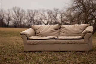 27/365 Couch in the field | by Eje Gustafsson