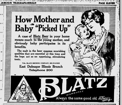 1916 Blatz Beer good for mother and baby | by carlylehold