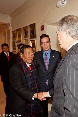 Vice President Binay arrives at The Heritage Foundation | by The Heritage Foundation Think Tank
