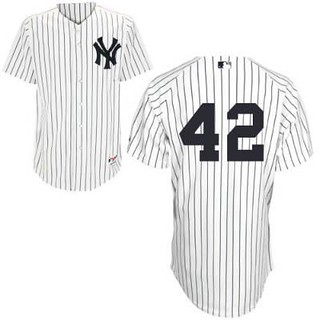 the best attitude 4ff7f 30f49 Youth-New York Yankees #42 Mariano Rivera White Jersey | Flickr