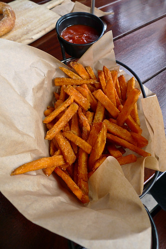 Sweet Potato Fries and Curry Ketchup - Congregation Ale House - Long Beach, CA | by Marshall Astor - Food Fetishist